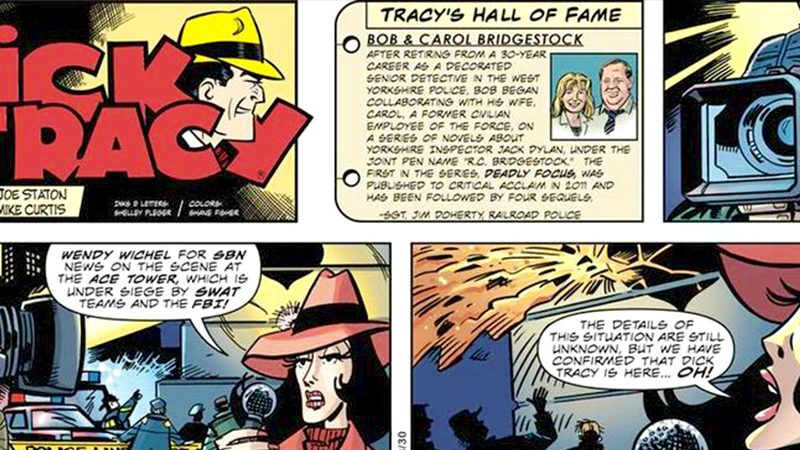 We're in Dick Tracy's Hall of Fame!