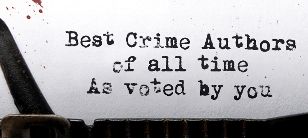 We've been voted as one of WH Smith's Best Crime Authors!